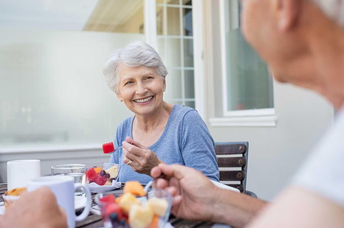 Die richtige Ernährung im Alter