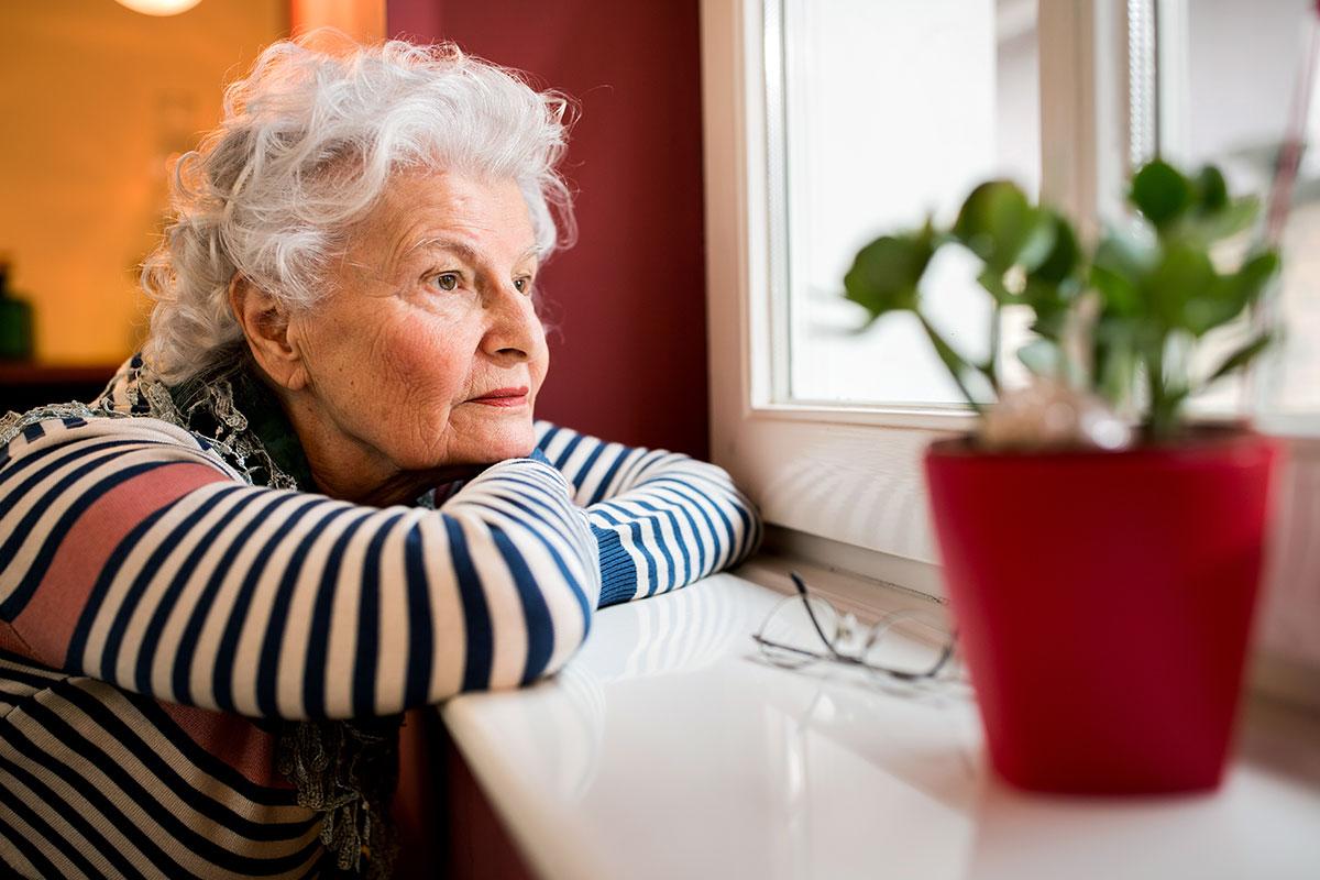 Wie mit Altersdepressionen umgehen? Ein weit verbreitetes Phänomen.