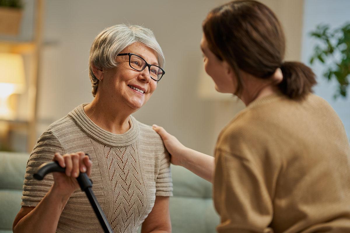 So gelingt die Kommunikation mit Demenzpatienten